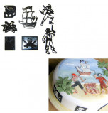 Dcoupoir Embosseur, Assortiment PIRATES