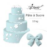 PATE A SUCRE | Bleu Pâle - 2,5 Kg