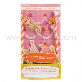 Sweet Soirée - Décor de Gâteau - Conditionnement
