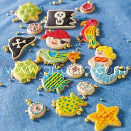 Recette - Sablés et Perles Multicolores