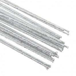 Fils métalliques (Tiges métalliques)   ARGENT