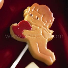 Moule Sucettes Chocolat, Cupidons Coeurs