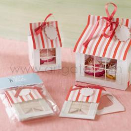 4 Boîtes pour 1 Cupcake