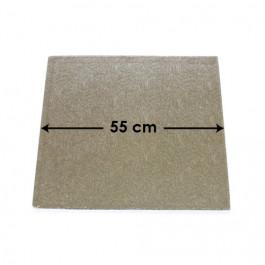 Cartons à Entremets - Argent - Carrés - 55 cm