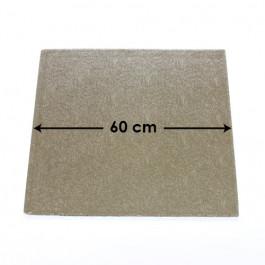 Cartons à Entremets - Argent - Carrés - 60 cm
