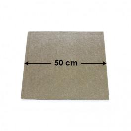 Cartons à Entremets - Argent - Carrés - 50 cm