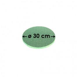 Cartons à entremets - Vert Pâle - Ronds 30 cm