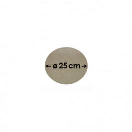 Cartons à Entremets - Argent - Ronds - 25 cm