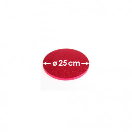 Rose Cerise - Rond 12 mm / 25 cm Ø