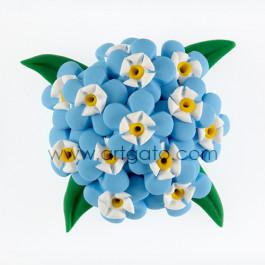 Colorant Pâte Bleu Azur Réalisation