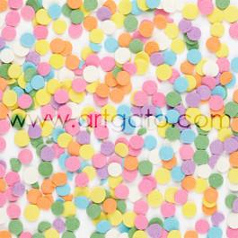 Confetti en Sucre Multicolores