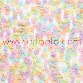 Confettis en Sucre - Étoiles Pastels