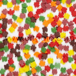 Confettis en Sucre - Feuilles d'Automne