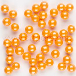 Perles de Sucre Nacrées - Orange