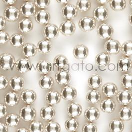 Perles en Sucre - Argent 8,5 mm