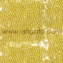 Perles Sucres Or 2 mm