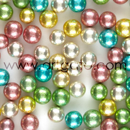 Perles en Sucre - Multicolores - 8,5mm