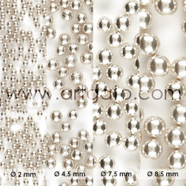 Perles en Sucre - Argent