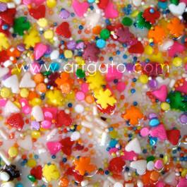 Idée Déco - Sol en Résine et Inclusions de Confettis