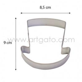 Découpoir - Chapeau Haut de Forme - Dimensions