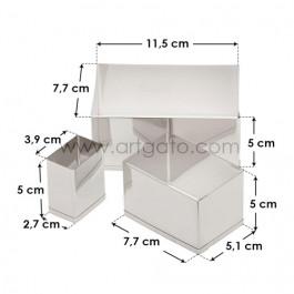 Découpoirs, Rectangle Uni - Dimensions