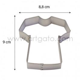 Découpoir - T-shirt - Dimensions
