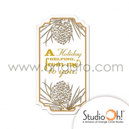 Etiquettes Cadeaux Studio Oh® | Thème Noël