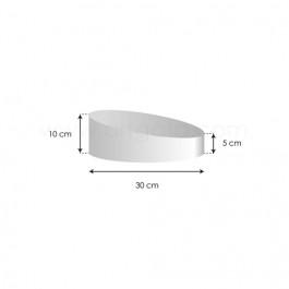 Socles Topsy Turvy - Haut. 5 à 10 cm x Ø 30 cm
