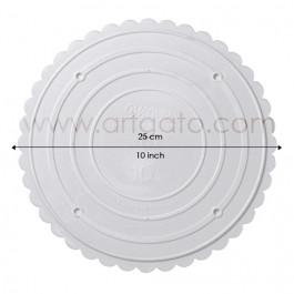Assiettes rondes 25 cm