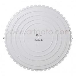 Assiettes rondes 35 cm