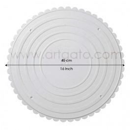 Assiettes rondes 40 cm