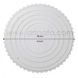 Assiettes rondes 15 cm