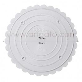 Assiettes rondes 20 cm