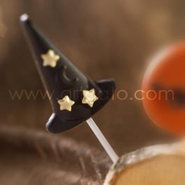 Moule Sucette Chocolat Chapeau de Magicien / Sorcière