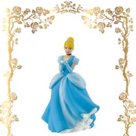 Figurine Anniversaire | Cendrillon et Pantoufle de Verre