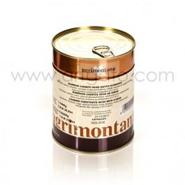 Marrons Confits au Sirop Agrimontana, Mini Marrons - Conditionnement