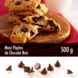 Maxi Pépites de Chocolat Noir 500 g