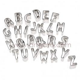 Découpoirs, Alphabet - Hauteur 25 mm