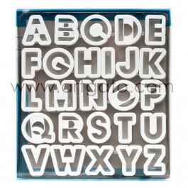 Découpoirs Alphabet Plastique