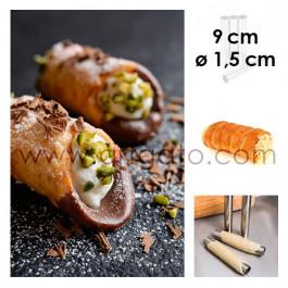 Tube pour Cannoli 9 cm x Ø 1,5 cm
