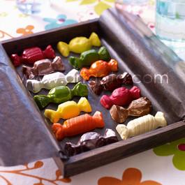 Réalisation de Bonbons en Chocolat