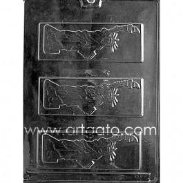 Moule Chocolat - Plaque Statue de la Liberté