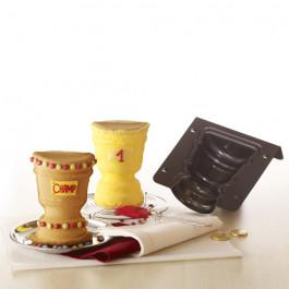 Moule à Gâteau Bikmann®  | Trophée 3D