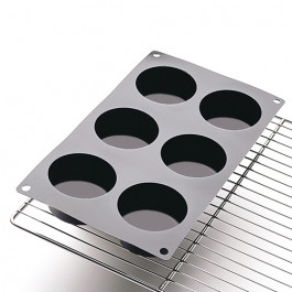 Moule Silicone Cake en Stock® | 6 MUFFINS