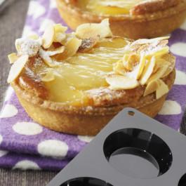 Moule Silicone Cake en Stock®    6 TARTELETTES