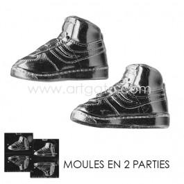 Moule Chocolat - Baskets 3D