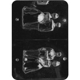 Moule à Chocolat, Couple de Mariés 3D