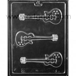 Moule à chocolat - Guitare électrique