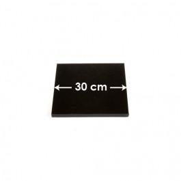 Cartons à entremets - Noir - Carrés 30 cm