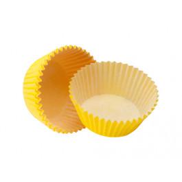 Caissettes Cupcakes – Taille Standard   Jaunes